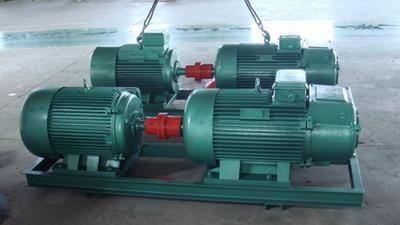 中频发电机组变压器倍频耐压试验